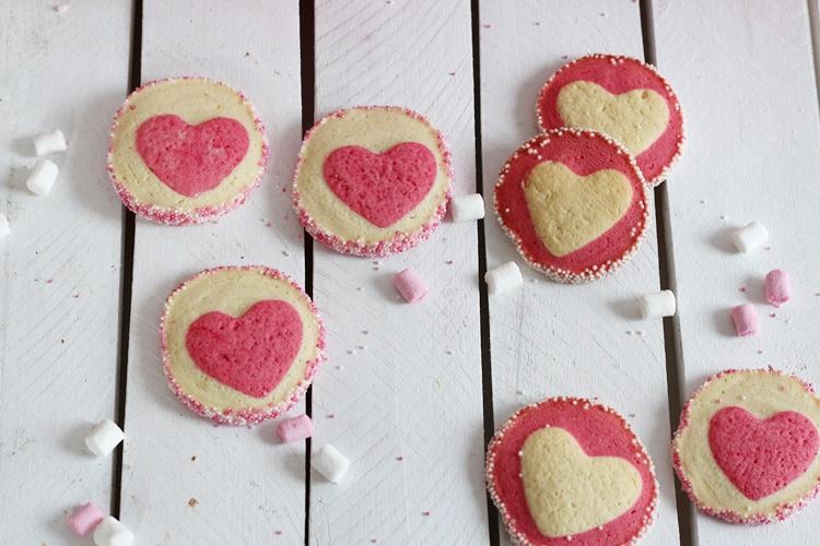 Herzkekse Valentinstag biskuitwerkstatt