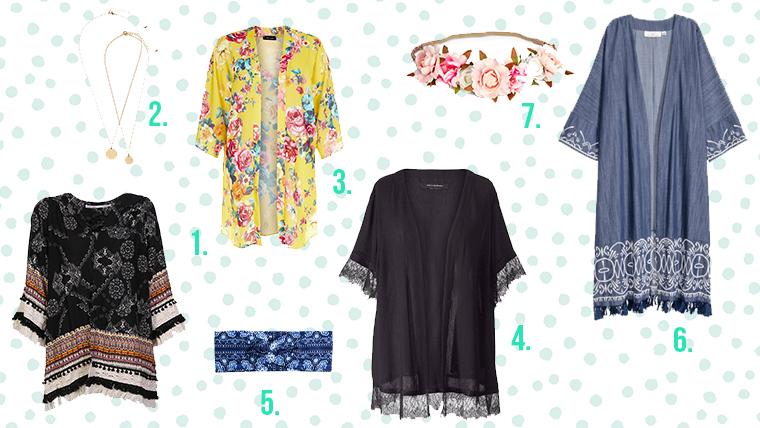 Fashionliebe zu … Kimonos