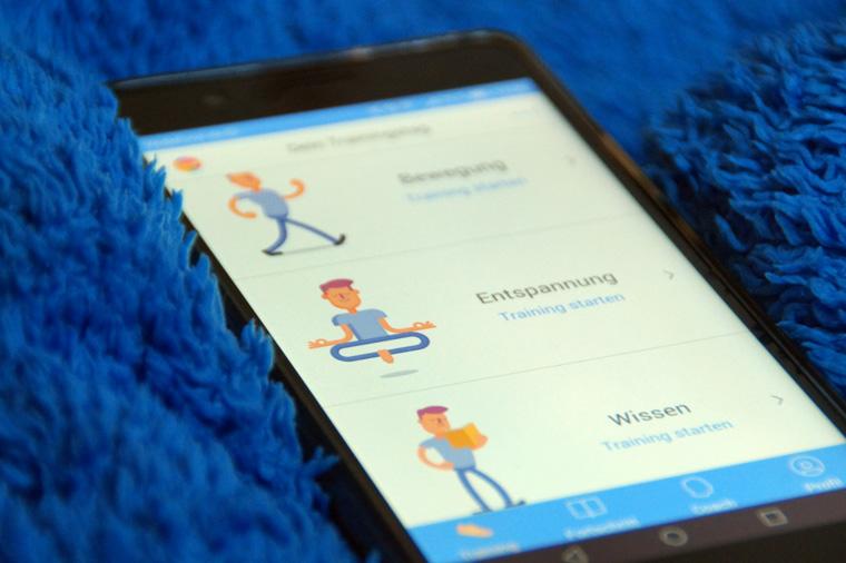 Kaia physiotherapeutische Übungen gegen Rückenschmerzen