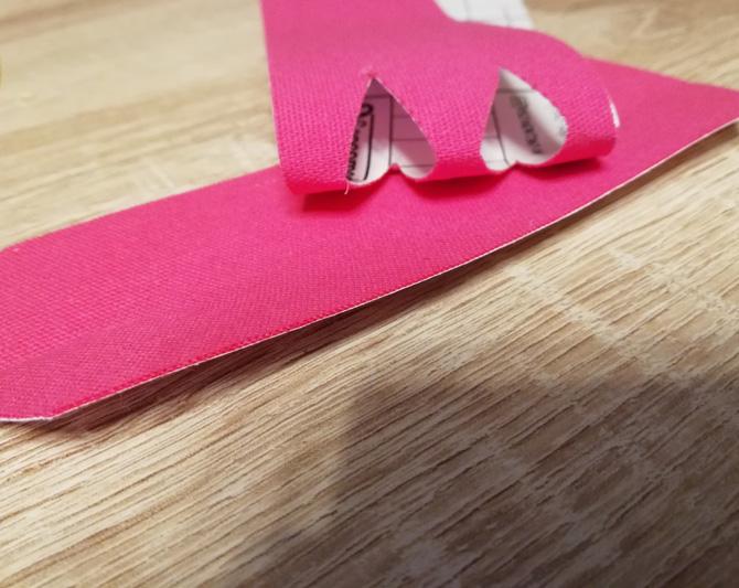 Tape bei Sehnenscheidenentzündung