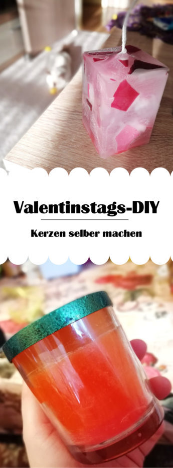 DIY Pinterest Kerzen selber machen