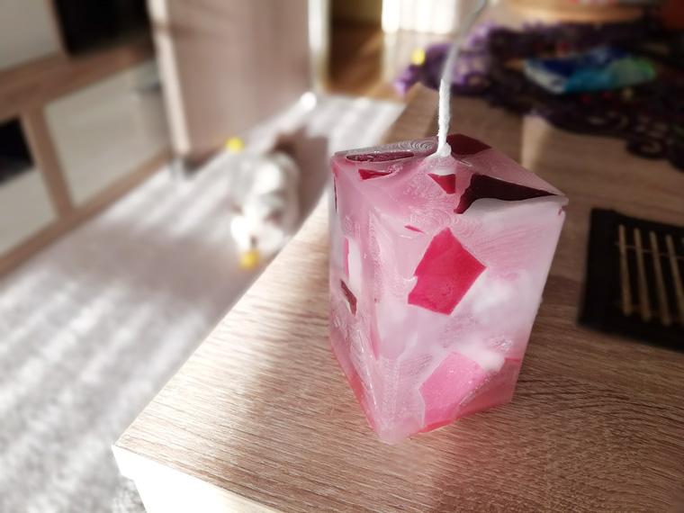 DIY Kerzen selber machen als Geschenk zum Valentinstag