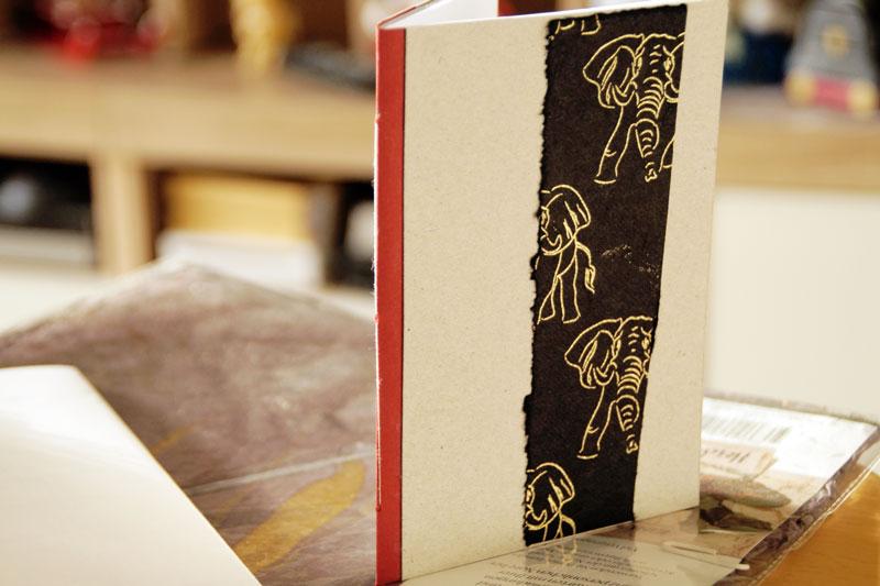 Notizbuch binden zu Weihnachten, Geburtstag, anderen Anlässen | DIY