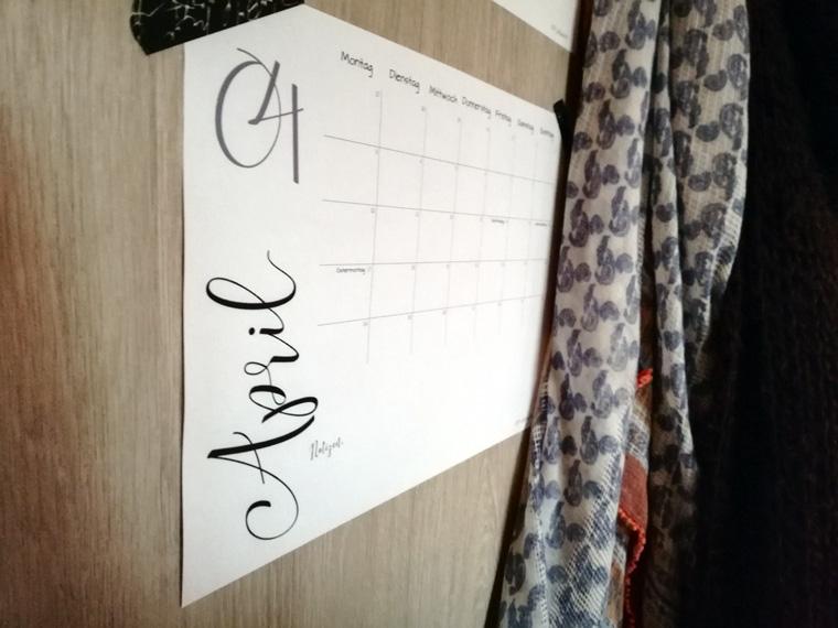 Kalender 2018 zum Ausdrucken | Freebie