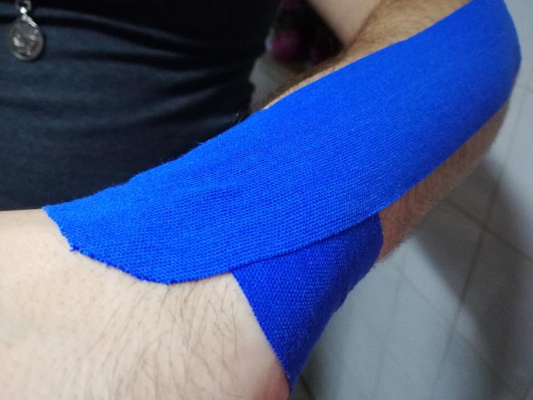Kinesio-Tape gegen Sehnenscheidenentzündung