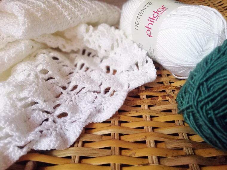 Wolle von Phildar Detente für den Sommer