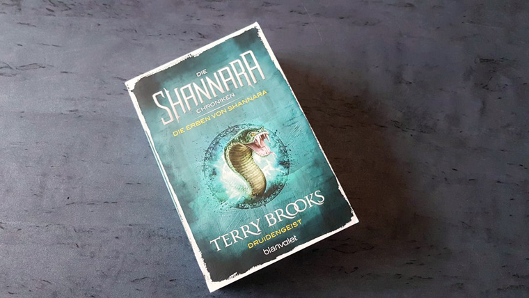 Rezension zu Shannara Druidengeist Band 2 von Terry Brooks