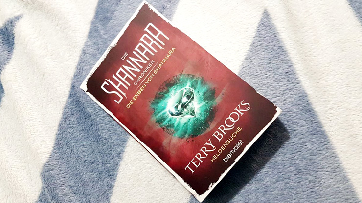 [Rezension] Die Erben von Shannara – Heldensuche von Terry Brooks (1)