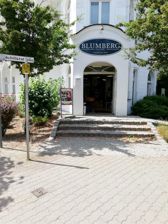 Glasbläserei Blumberg in Binz