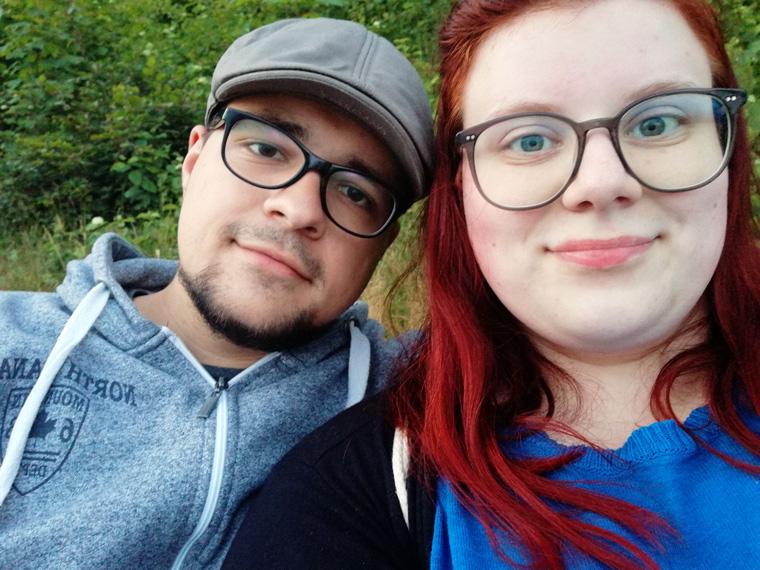 Marco und ich im Ostseebad Sellin