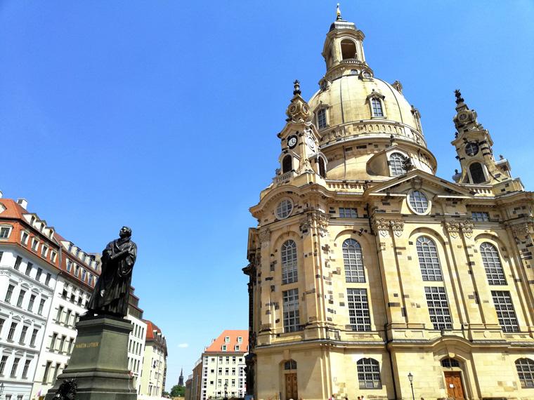 Tagesausflug nach Dresden mit den Eltern