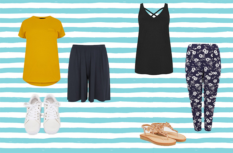 4 allgemeine Tipps für das richtige Sommeroutfit und Empfehlung für kurvige Frauen