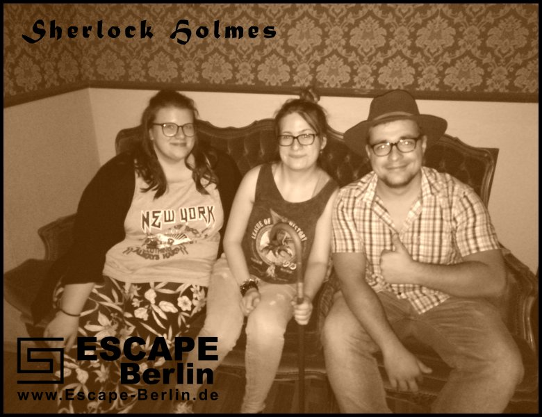 Escape Game in Escape Berlin Sherlock Holmes