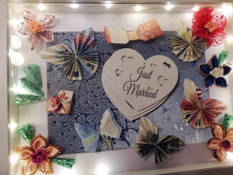 Hochzeitsgeschenk Geldgeschenk machen