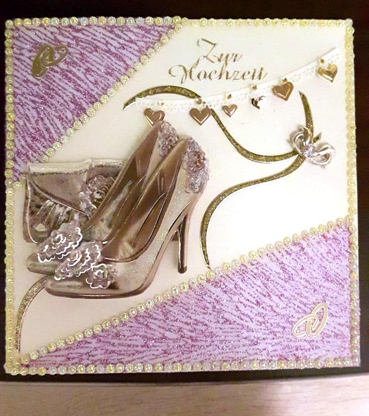 Hochzeitskarte elegant