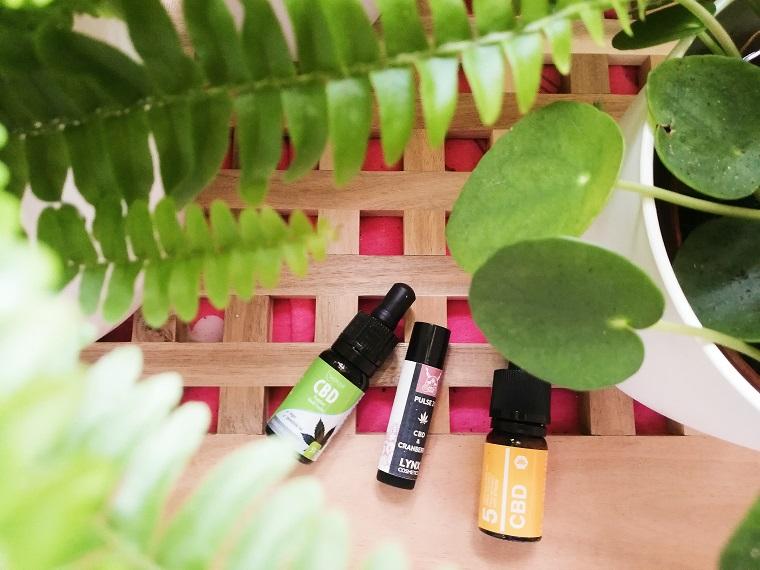 CBD-Öl in Kosmetik und reine Anwendung