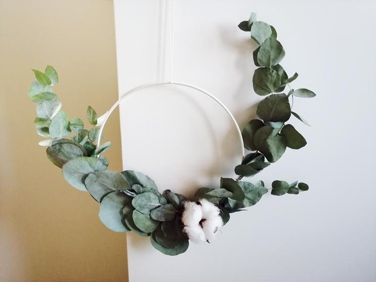Brautdekoration Eukalyptuskranz