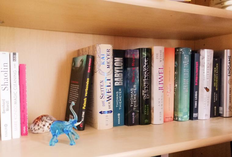 Bücher aufräumen nach Marie Kondo | über 40 Bücher aussortiert