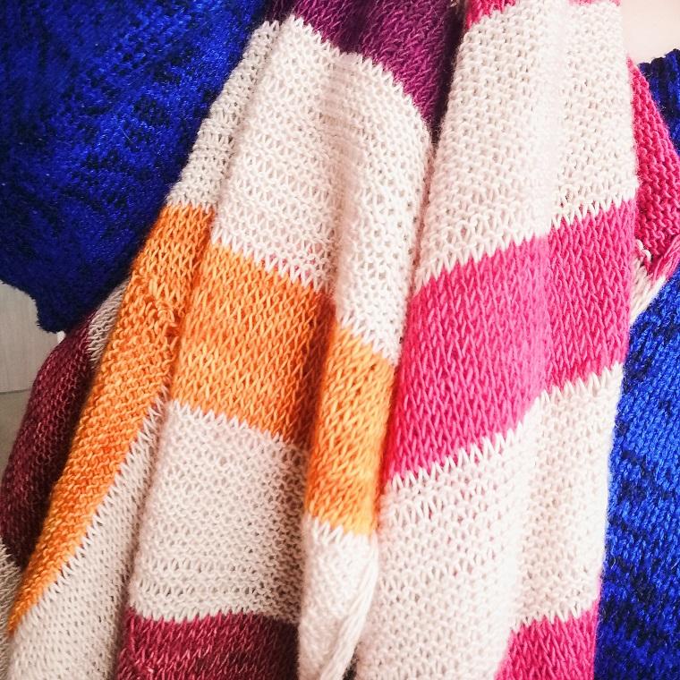 Lieblingsstrickstück Winter Schal von Himawariknits