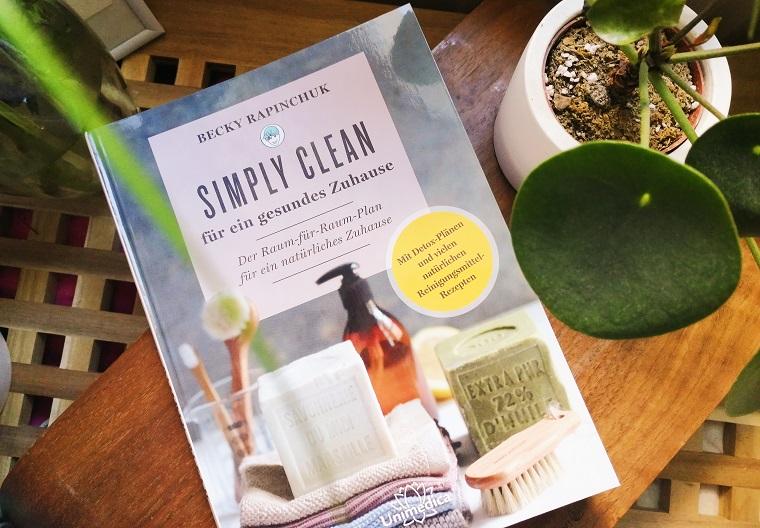 """Natürliche Reinigungsmittel mit """"Simply Clean für ein gesundes Zuhause"""""""