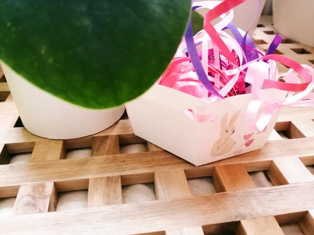 Osternest selbst basteln DIY mit Freebie (freier Download)